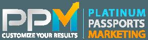 platinum passports marketing logo