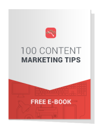 100 Content Marketing Tips Free E-Book