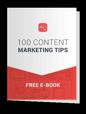 100 Content Marketing Tips Free E-Book